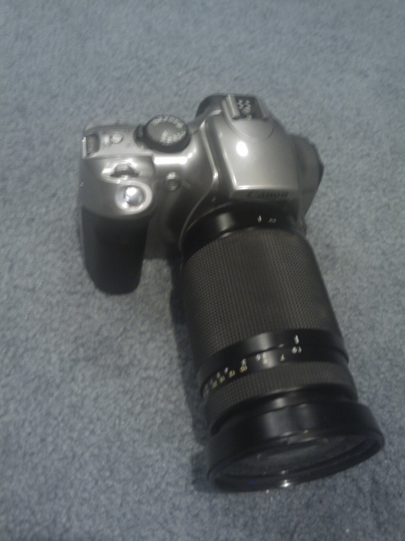 Canon Rebel Eos Ds6041 300d W Zoom Lens And Yakima Ez